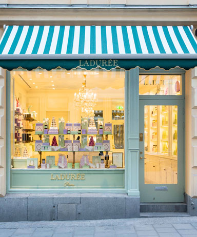 Stockholm boutique moved permanently laduree in for Boutique hotels around the world